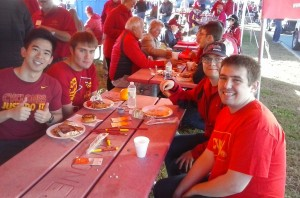 CBE Tailgate on October 3rd, 2015
