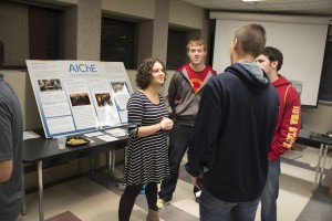 Student organization: American Institute of Chemical Engineers